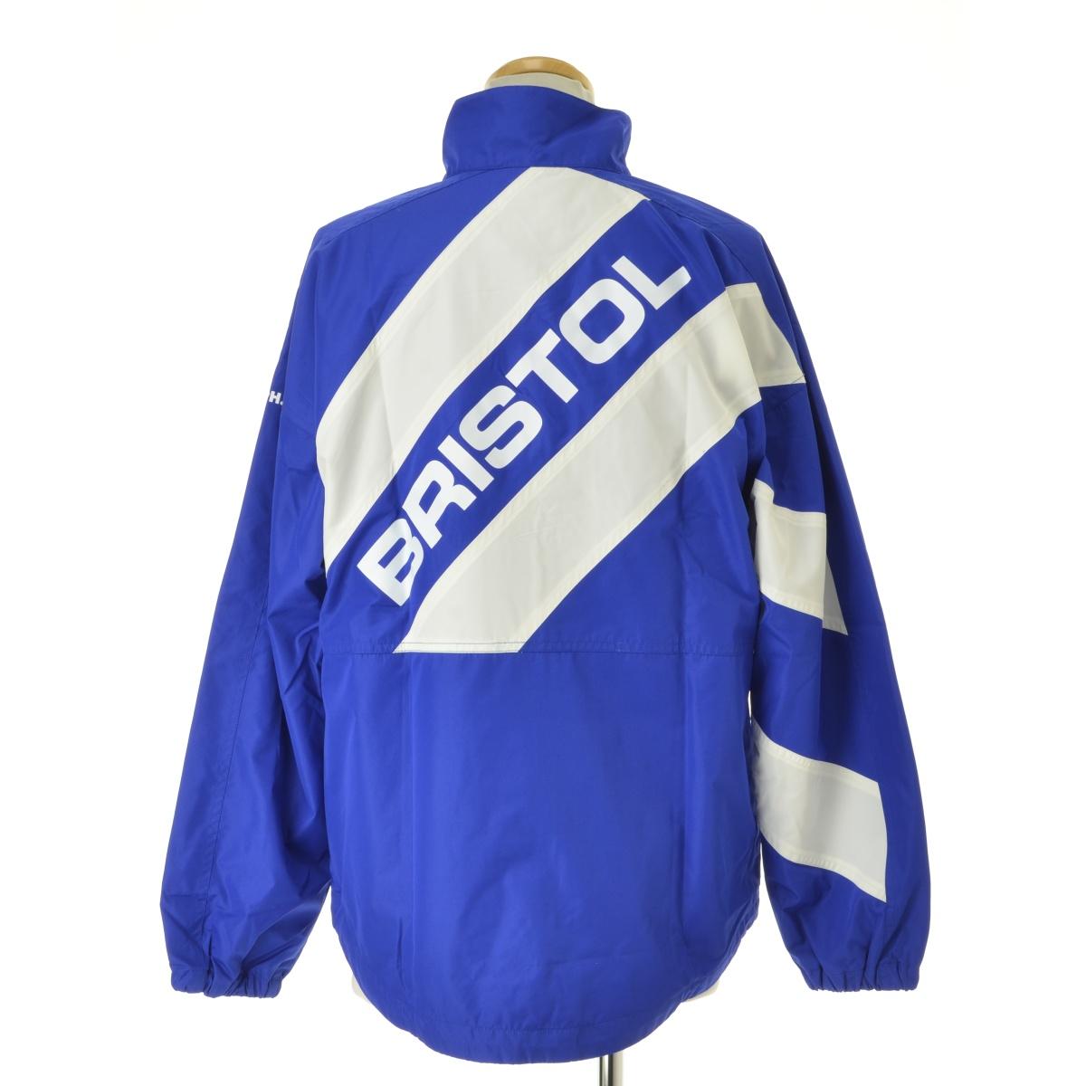 F.C.R.B. / エフシーアールビーの古着「17AW FCRB-178004 STAND COLLAR STRIPE JACKETジャケット」|詳細画像